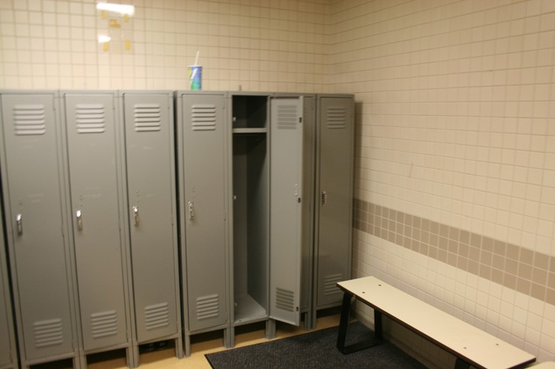 43. Gym Locker Room