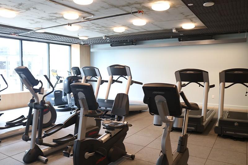 70. Mezzanine Level Gym