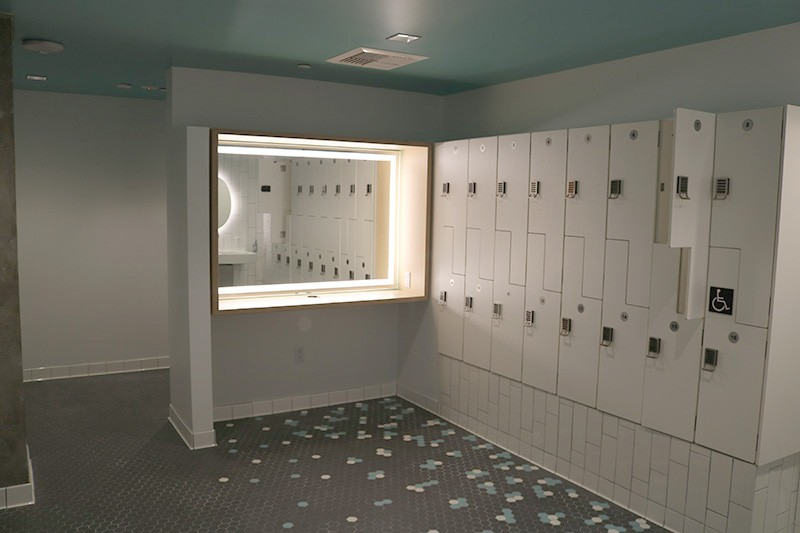 75. Mezzanine Level Gym