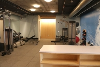 61. Mezzanine Level Gym