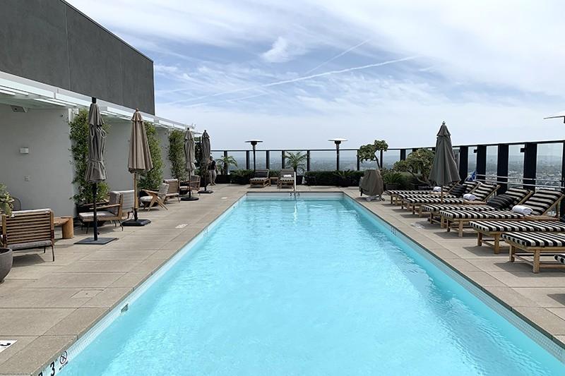 93. Rooftop Pool