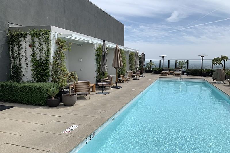 95. Rooftop Pool