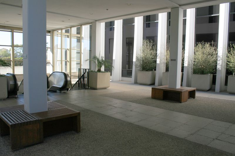 19. Courtyard Lobby