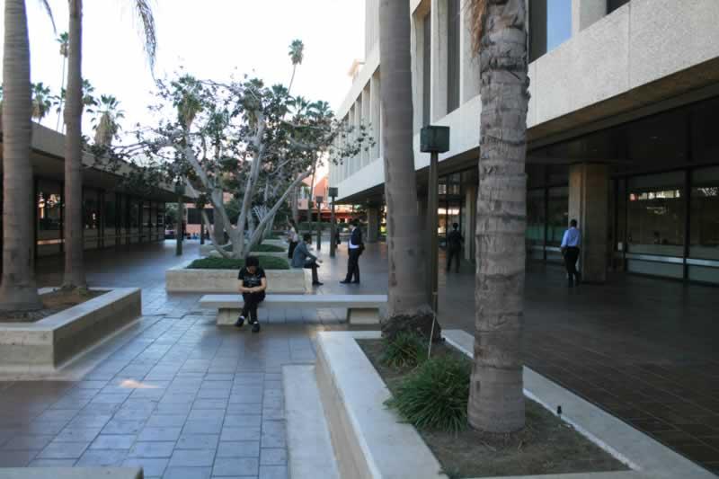21. Rear Plaza