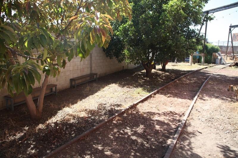 24. W. Rear Yard  & RR Tracks
