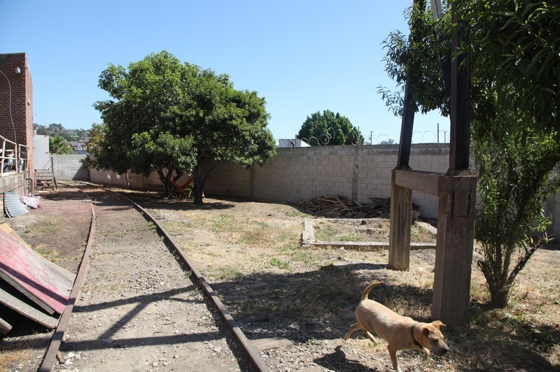 27. W. Rear Yard  & RR Tracks