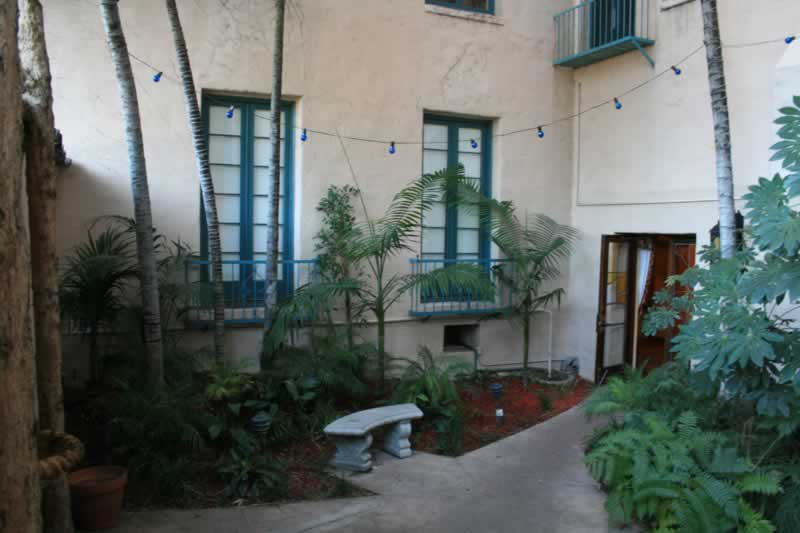 18. Back Courtyard