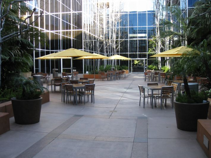 26. Plaza Courtyard