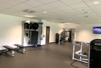 44. Lower level Gym