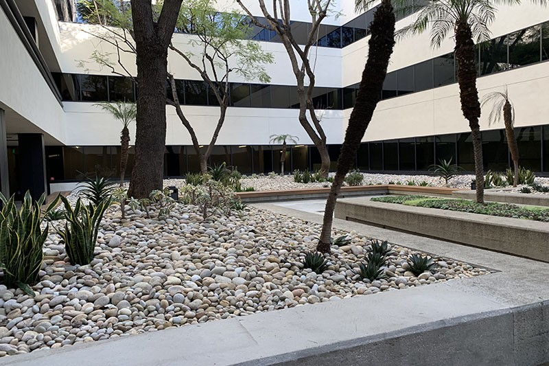 53. 15350 Bldg. Courtyard