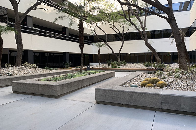 55. 15350 Bldg. Courtyard